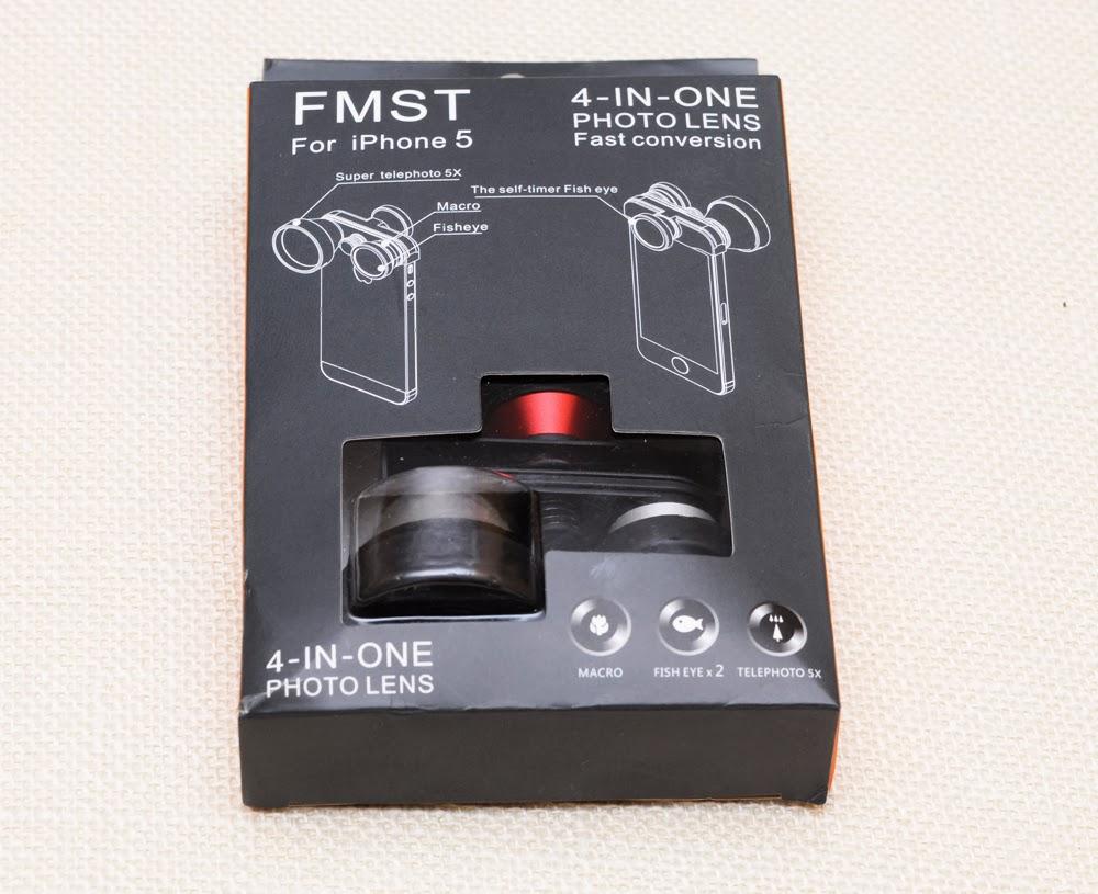 Обзор объектива FMST 4 В 1 ДЛЯ IPHONE 5/5S